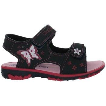 kengät Tytöt Sandaalit ja avokkaat Kappa Blossom Mustat, Tummansininen, Vaaleanpunaiset
