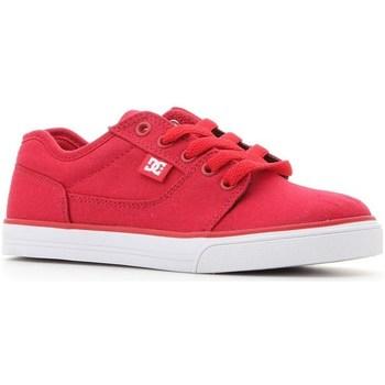 kengät Lapset Matalavartiset tennarit DC Shoes Tonik TX Punainen