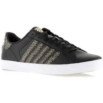 kengät Naiset Matalavartiset tennarit K-Swiss Belmont SO Mustat, Kullanväriset