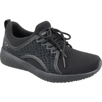 kengät Naiset Matalavartiset tennarit Skechers Bobs Squad 32507-BBK