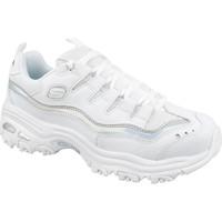 kengät Naiset Matalavartiset tennarit Skechers D Lites Blanc