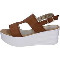 kengät Naiset Sandaalit ja avokkaat Querida BR157 Ruskea
