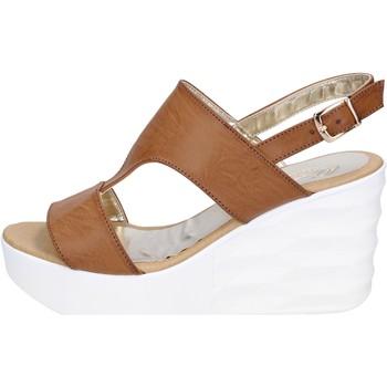 kengät Naiset Sandaalit ja avokkaat Querida BR159 Ruskea