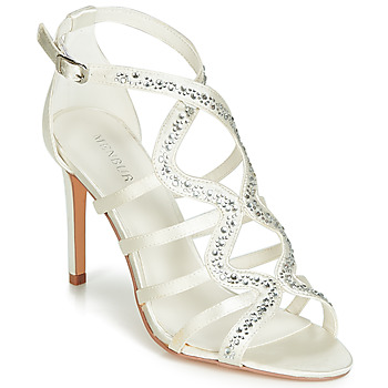 kengät Naiset Sandaalit ja avokkaat Menbur MAFAT Ivory