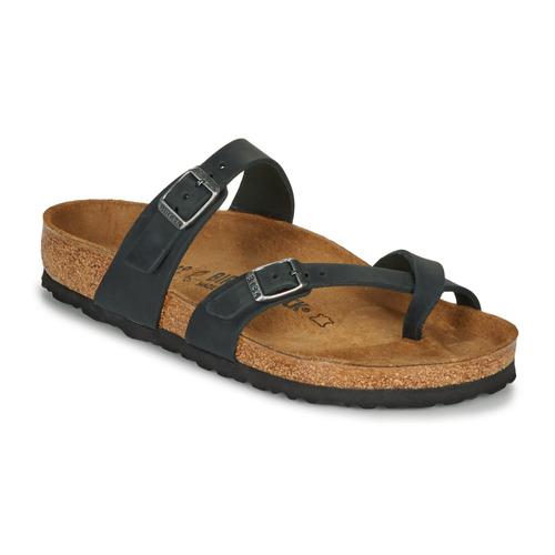 kengät Naiset Sandaalit Birkenstock MAYARI Black