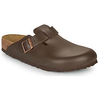 kengät Miehet Puukengät Birkenstock BOSTON SFB Brown