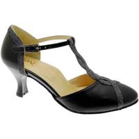 kengät Naiset Korkokengät Angela Calzature Ballo SOSO236ne nero