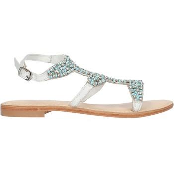 kengät Naiset Sandaalit ja avokkaat Cristin CATRIN9 White and blue