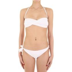 vaatteet Naiset kaksiosainen uimapuku Joséphine Martin CARAMELLA Bianco