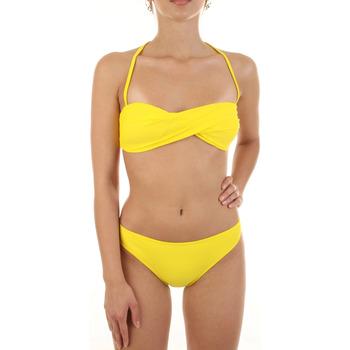 vaatteet Naiset Kaksiosainen uimapuku Joséphine Martin CARAMELLA Giallo