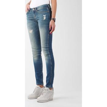 vaatteet Naiset Skinny-farkut Wrangler Sandy Blues W23S4072G blue