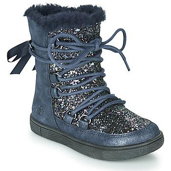 kengät Tytöt Talvisaappaat Mod'8 BLABY Laivastonsininen