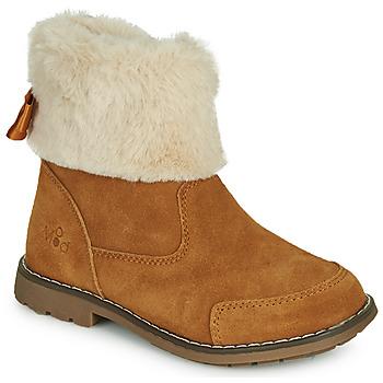 kengät Tytöt Bootsit Mod'8 STELIE Cognac