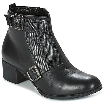 kengät Naiset Nilkkurit Andrea Conti CASTEL Black