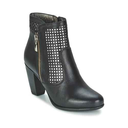 kengät Naiset Nilkkurit Andrea Conti SAMPI Black