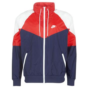 vaatteet Miehet Tuulitakit Nike M NSW HE WR JKT HD + Laivastonsininen