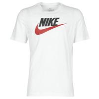 vaatteet Miehet Lyhythihainen t-paita Nike M NSW TEE ICON FUTURA White