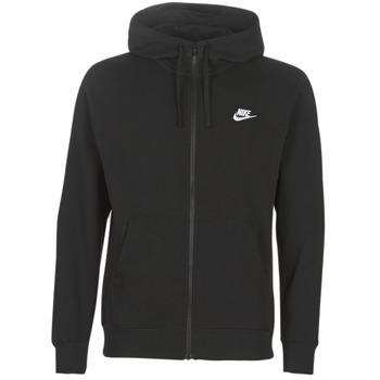 vaatteet Miehet Svetari Nike M NSW CLUB HOODIE FZ BB Black
