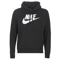 vaatteet Miehet Svetari Nike M NSW CLUB HOODIE PO BB GX Black