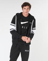 vaatteet Miehet Svetari Nike M NSW NIKE AIR HOODIE FZ FLC Black