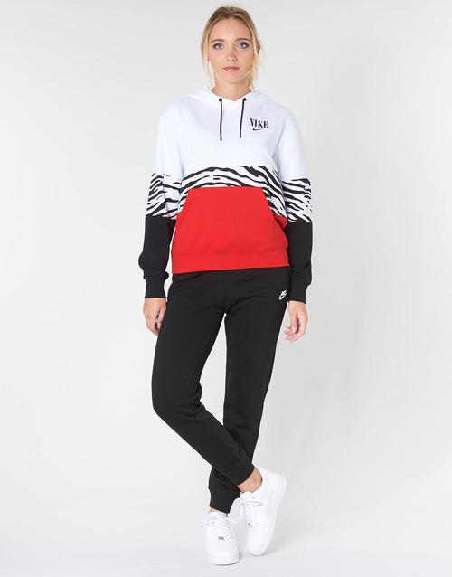 vaatteet Naiset Verryttelyhousut Nike W NSW ESSNTL PANT REG FLC Black