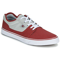 kengät Miehet Matalavartiset tennarit DC Shoes TONIK TX Red / Beige