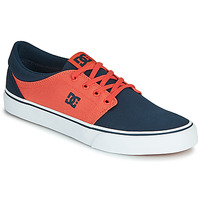 kengät Miehet Matalavartiset tennarit DC Shoes TRASE TX Blue / Orange