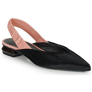 kengät Naiset Balleriinat Heimstone SWEDES Black / Pink