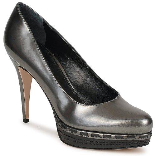 kengät Naiset Korkokengät Sebastian TREDACCIAIO Grey