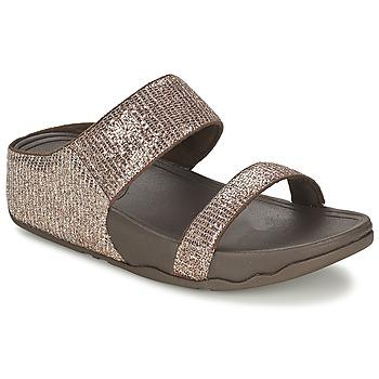 kengät Naiset Sandaalit FitFlop LULU™ SUPERGLITZ SLIDE Ruskea