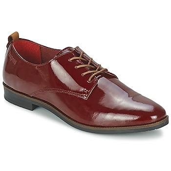 kengät Naiset Derby-kengät Bugatti VICTORIA BORDEAUX