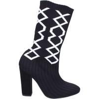 kengät Naiset Saappaat Nacree BR272 Musta