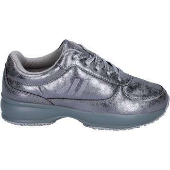 kengät Tytöt Matalavartiset tennarit Lumberjack sneakers pelle sintetica Argento