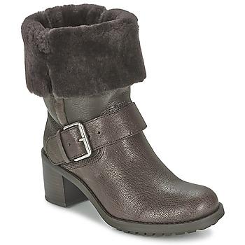kengät Naiset Bootsit Clarks PILICO PLACE Ruskea