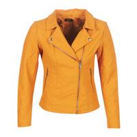 vaatteet Naiset Nahkatakit / Tekonahkatakit Only ONLMEGAN Yellow