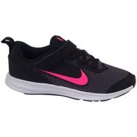 kengät Tytöt Matalavartiset tennarit Nike Downshifter 9 Psv Mustat