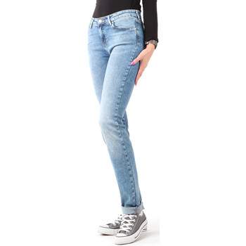 vaatteet Naiset Skinny-farkut Wrangler Slim Best Blue W28LX794O blue