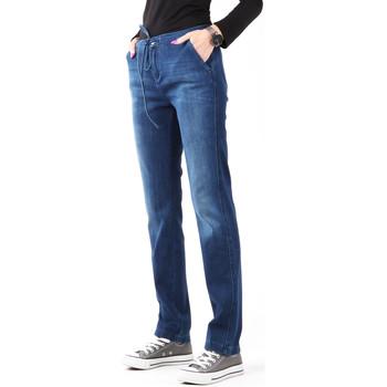 vaatteet Naiset Skinny-farkut Wrangler Slouchy Cosy Blue W27CGM82G navy