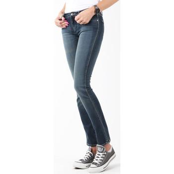 vaatteet Naiset Skinny-farkut Wrangler Courtney Storm Break W23SP536V navy