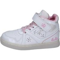 kengät Tytöt Korkeavartiset tennarit Lulu BR351 Valkoinen