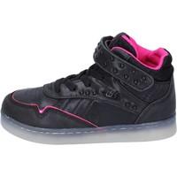 kengät Tytöt Korkeavartiset tennarit Lulu BR353 Musta