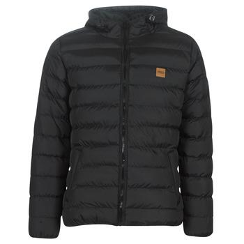 vaatteet Miehet Toppatakki Urban Classics BASIC BUBBLE JACKET Black