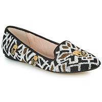 kengät Naiset Mokkasiinit House of Harlow 1960 ZENITH Musta / Valkoinen / Kulta