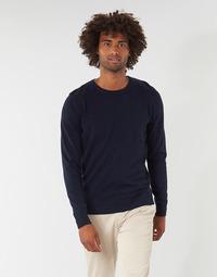 vaatteet Miehet Neulepusero Tom Tailor FLORET Laivastonsininen