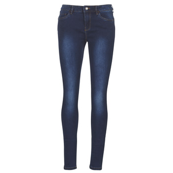 vaatteet Naiset Slim-farkut Vero Moda VMSEVEN Blue / Fonce