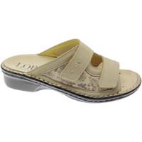 kengät Naiset Sandaalit Calzaturificio Loren LOM2714be marrone