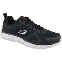 kengät Miehet Juoksukengät / Trail-kengät Skechers Track-Scloric 52631-BKRD