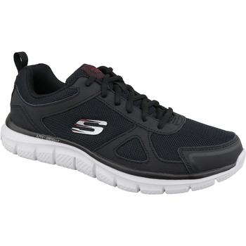 kengät Miehet Juoksukengät / Trail-kengät Skechers Track-Scloric Noir
