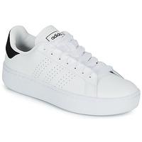 kengät Naiset Matalavartiset tennarit adidas Originals ADVANTAGE BLD White