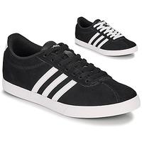 kengät Naiset Matalavartiset tennarit adidas Originals COURTSET BLK FE Black